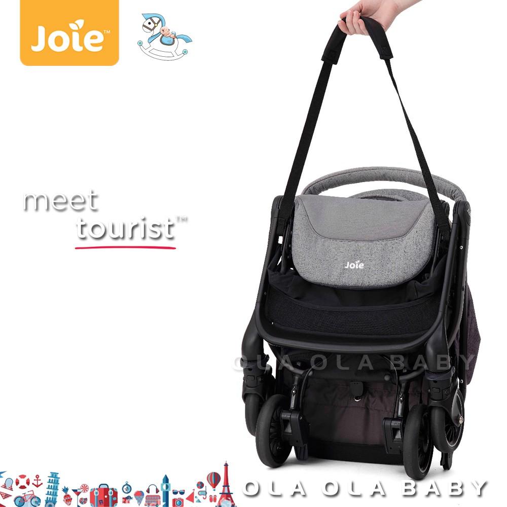 joie tourist lightweight stroller lychee coal dark pewter strap