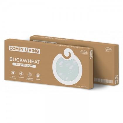 Comfy Living Buckwheat Pillow - 14cm x 33cm