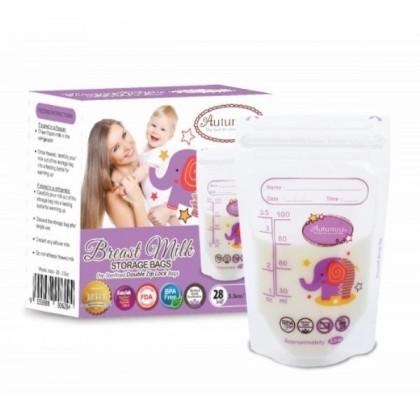 Autumnz Breastmilk Storage Bags 3.5oz - 28pcs