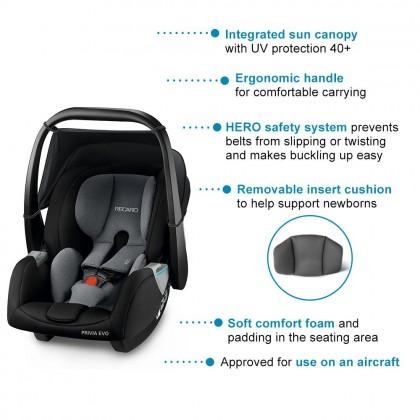 Recaro Privia Evo Infant Carrier