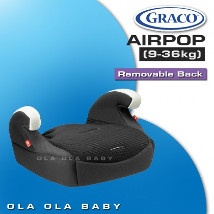 Graco Air Pop Booster Seat (3 years warranty)
