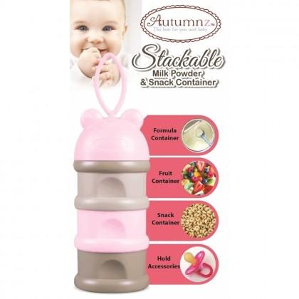 Autumnz Stackable Milk Powder & Snack Container